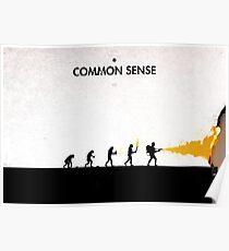 99 Steps of Progress - Common sense Poster