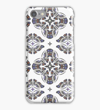 Butterfly Ornamental 3G  4G  4s case iPhone Case/Skin