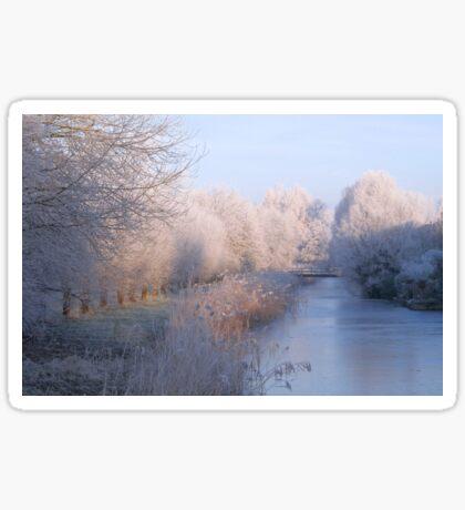 Magical Winter Wonderland Sticker