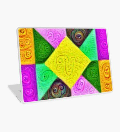 DeepDream Color Squares Visual Areas 5x5K v1447913433 Laptop Skin