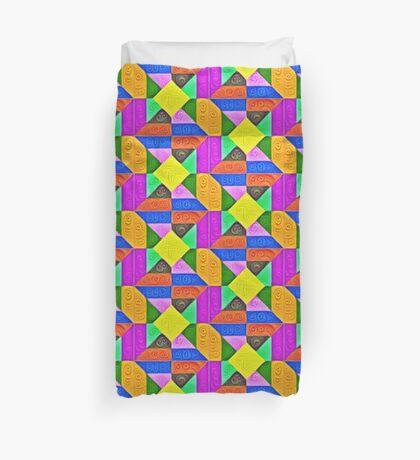 DeepDream Color Squares Visual Areas 5x5K v1447913433 Duvet Cover