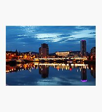 Night photography - belfast #2 Photographic Print