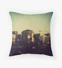 DOWNTOWN SAN DIEGO, CA Throw Pillow
