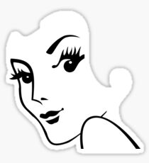 Miss Redhead [iPad / Phone cases / Prints / Clothing / Decor] Sticker