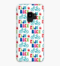 Ride a Bike Sketchy white 3G  4G  4s iPhone case   Case/Skin for Samsung Galaxy