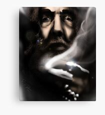 Alan Moore - Comic Messiah Canvas Print