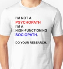Do Your Research. T-Shirt
