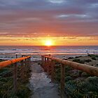 Aldinga Silver Sands Beach (Sunset) by Gavin Kerslake