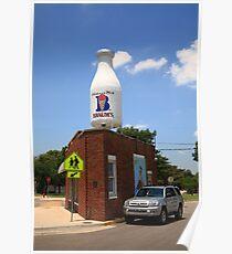 Route 66 - Giant Milk Bottle Poster