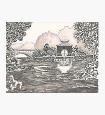 MIRROR LAKE Photographic Print