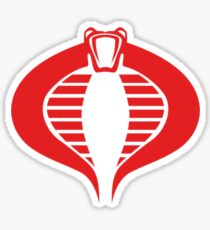 cobra logo Sticker