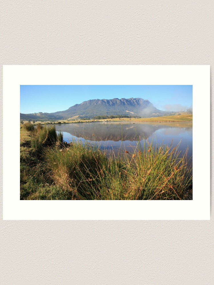 Alternate view of Mt Roland, Tasmania, Australia Art Print