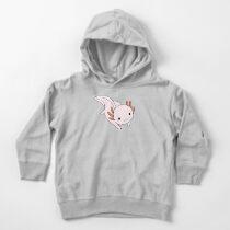 Pink Axolotl Toddler Pullover Hoodie