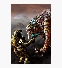 The Blunderbeast and the Spaceman Photographic Print