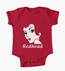 Miss Redhead (text) [iPad / Phone cases / Prints / Clothing / Decor] One Piece - Short Sleeve