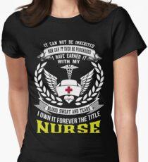 NURSE Women's Fitted T-Shirt