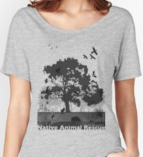 Support Native Animal Rescue Women's Relaxed Fit T-Shirt