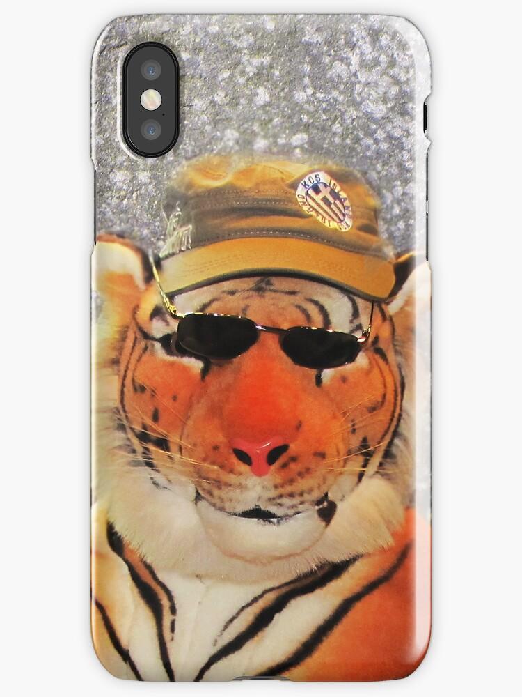 Kool Kat iPhone/iPod case by Carol Bleasdale