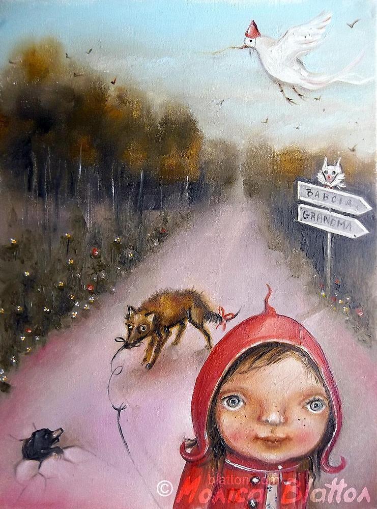 Little Red Riding Hood by Monica Blatton