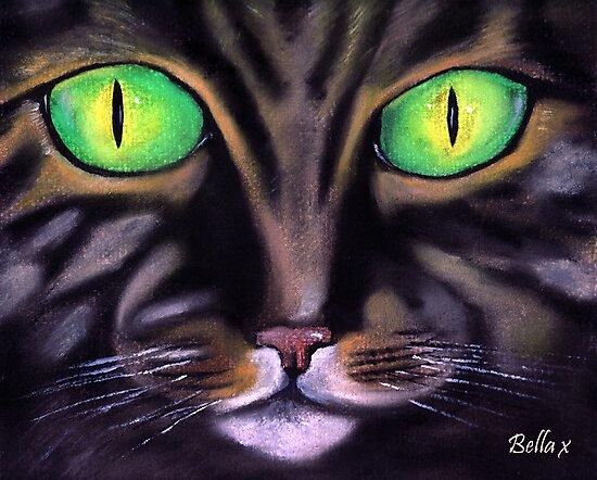 Green Eyes by BellaHamblin