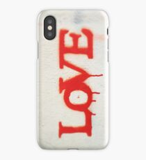 All You Need is Love (Red) iPhone Case/Skin