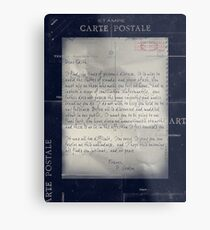 Dear Edith Crawley Metal Print