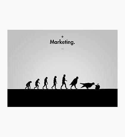 99 Steps of Progress - Marketing Photographic Print