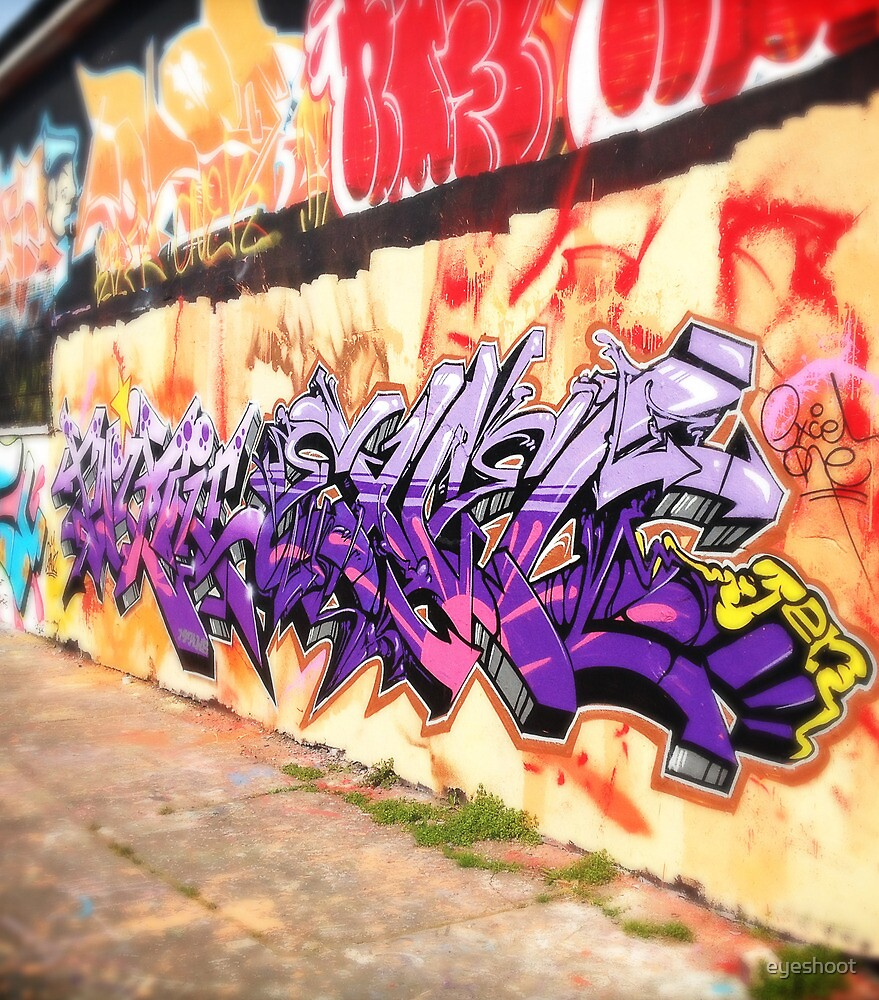 Wall of Colour by eyeshoot
