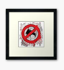 Nothing Canon in Here Framed Print