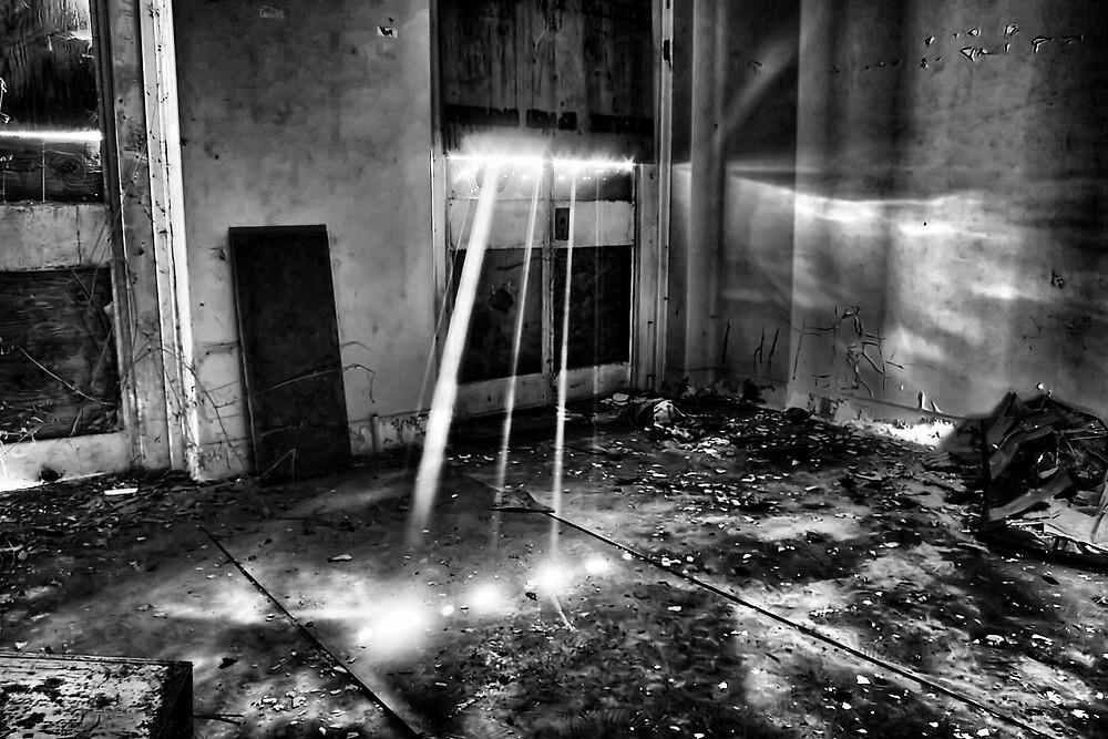 Sun Rays In The Asylum by Dave Godden