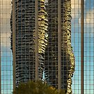 Marilyn Monroe Towers Reflected by Holly Cawfield