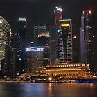 Singapore by night 3 by Adri  Padmos
