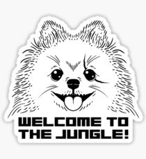 WELCOME TO THE JUNGLE! Sticker