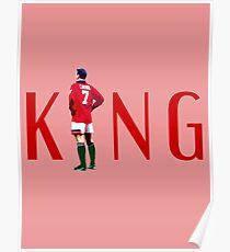 Eric Cantona: The King Poster