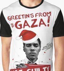 GAZA WEIHNACHTEN TEE- #FREEWORLBOSS Grafik T-Shirt