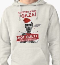 GAZA XMAS TEE- #FREEWORLBOSS Pullover Hoodie