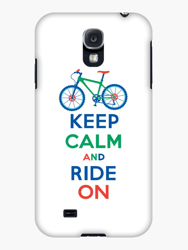 Keep Calm and Ride On multi 3G  4G  4s cases by Andi Bird