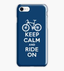 Keep Calm and Ride On  navy  3G  4G  4s iPhone case  iPhone Case/Skin