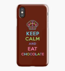 Keep Calm and Eat Chocolate 3G  4G  4s iPhone case  iPhone Case/Skin