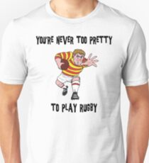 Funny Rugby Unisex T-Shirt