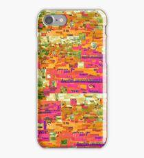 Multicolor Paper Collage iPhone Case/Skin