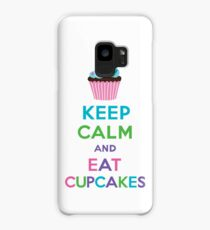 Keep Calm and Eat Cupcakes 2   3G  4G  4s iPhone case  Case/Skin for Samsung Galaxy