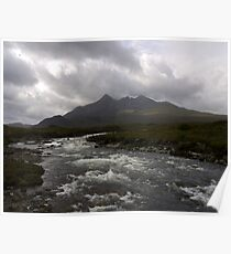 The Black Cuillin Poster