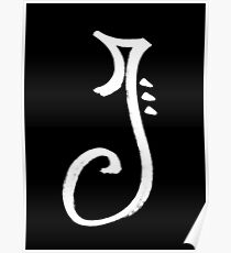 The Letter J Poster