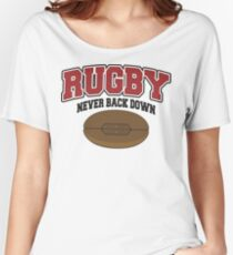 Rugby Women's Relaxed Fit T-Shirt
