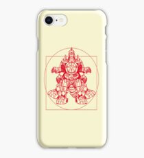 Vitruvian Dragon Zord iPhone Case/Skin