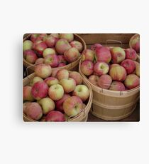 Lienzo Bushels of Apples