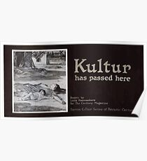 Kultur has passed here Poster