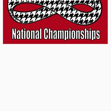 Alabama Infinity National Championships Crimson back by Tardis53
