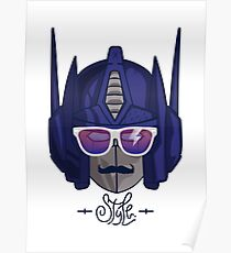 optimus style Poster